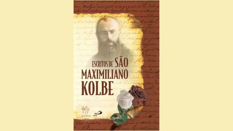 Capa do livro sobre os escritos de Kolbe